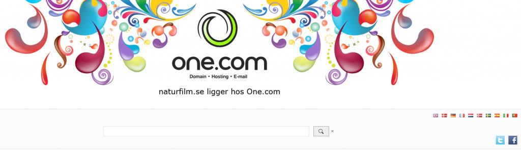 one.com naturfilm.se
